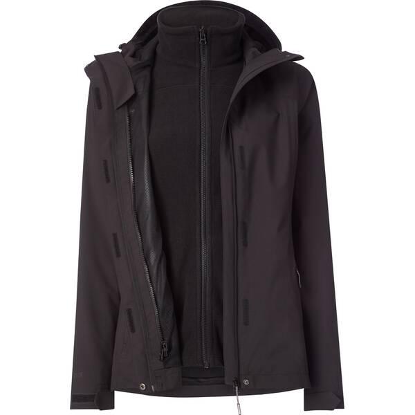 McKINLEY Damen Funktionsjacke D-Dop-Jacke Terang II Schwarz