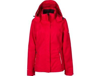 McKINLEY Damen Funktionsjacke Terang Shell II Rot