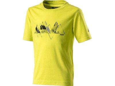 McKINLEY Kinder Shirt K-T-Shirt Zabek Gelb