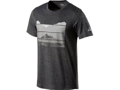 McKINLEY Herren Shirt H-T-Shirt Milan Schwarz