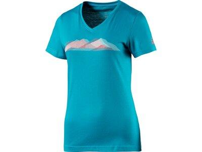 McKINLEY Damen Shirt D-T-Shirt Milan Blau