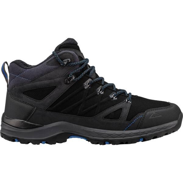 McKINLEY Herren Trekkingstiefel Kona Mid IV AQX | Schuhe > Outdoorschuhe > Trekkingschuhe | Schwarz - Blau | mckinley