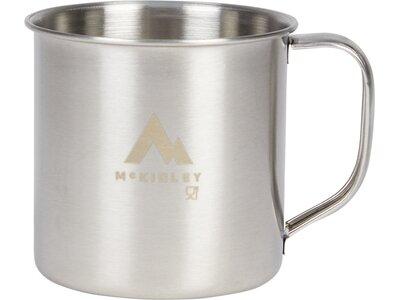 McKINLEY Becher Edelstahl Silber