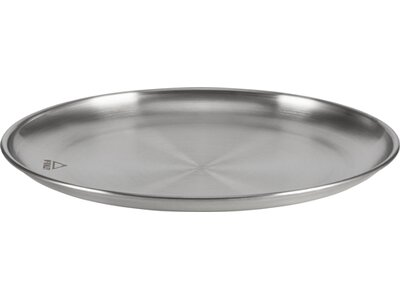 McKINLEY Teller Flach Silber