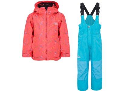 McKINLEY Kinder Anzug Timber II + Ray II Pink