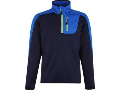 McKINLEY Kinder Shirt Blake Blau