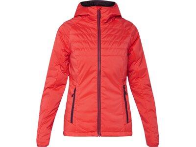 McKINLEY Damen Jacke Teide Rot