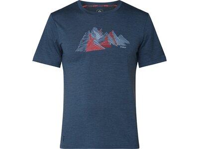 McKINLEY Herren T-Shirt Saao Blau