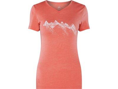 McKINLEY Damen T-Shirt Saao Rot