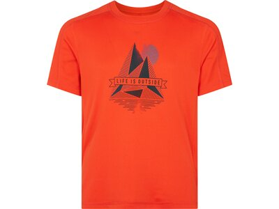 McKINLEY Kinder T-Shirt Cora Orange