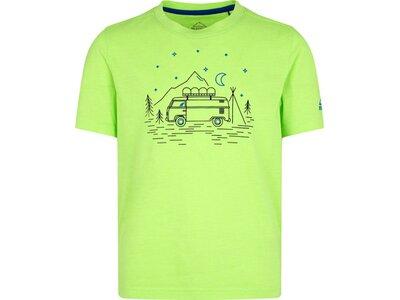 McKINLEY Kinder T-Shirt Zorra Gelb