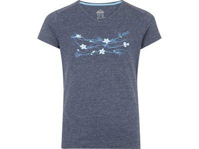 McKINLEY Mädchen T-Shirt Zorra Blau