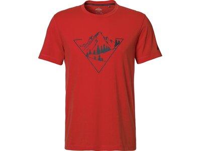 McKINLEY Herren T-Shirt Mally Rot