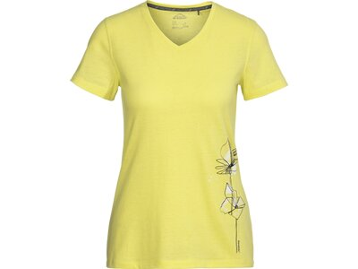 McKINLEY Damen T-Shirt Kimo Gelb