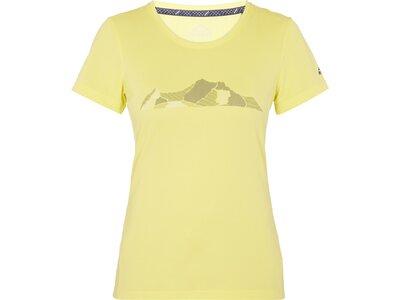 McKINLEY Damen T-Shirt Rakka Gelb
