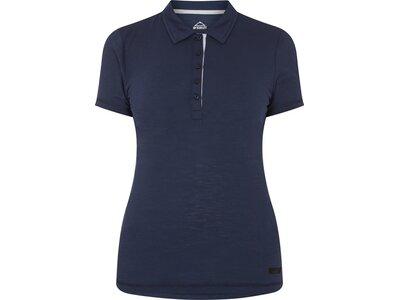 McKINLEY Damen Polo Chama III Blau