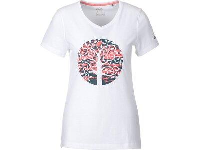 McKINLEY Damen T-Shirt Mally Weiß
