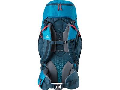 McKINLEY Trekking-Rucksack MAKE CT 55+10 Vario Blau