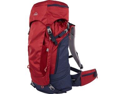 McKINLEY Trekking-Rucksack MAKE CT 60W+10 Vario Rot