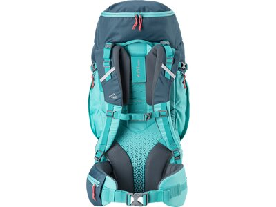 McKINLEY Trekking-Rucksack MAKE CT 50W+10 Vario Blau