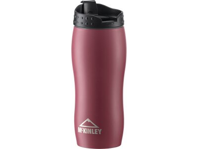 McKINLEY Isolierflasche STAINLESS STEEL DOUB Rot