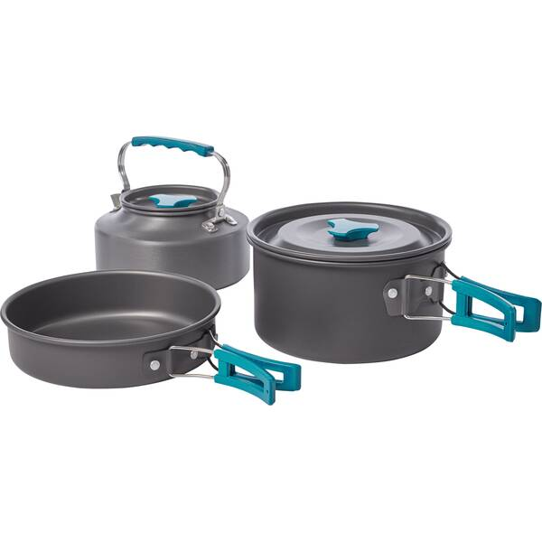 McKINLEY Kochgeschirr COOKING SET ANODIZED