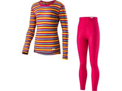 McKINLEY Kinder Unterwäschenset K-Garnitur Stripes Pink