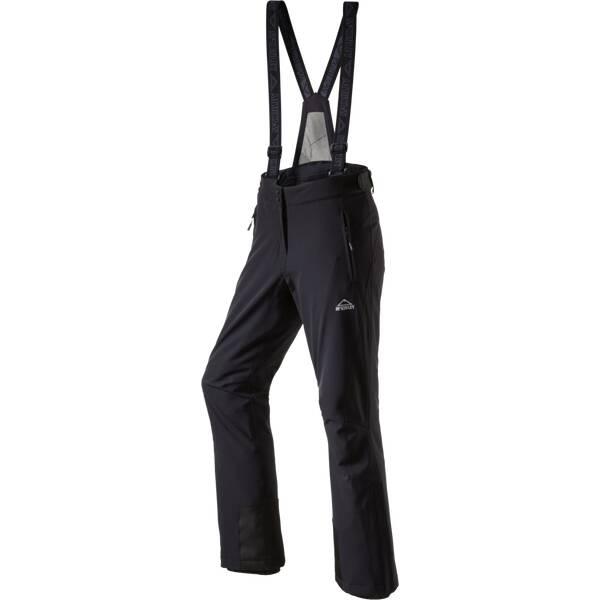 McKINLEY Damen Latzhose Skiba Premium Stretch Kurzgröße