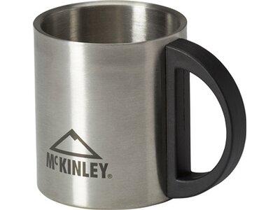 McKINLEY Edelstahlbecher 0,2 l Silber