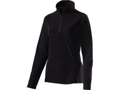 McKINLEY Damen Fleece-Longshirt Cortina II Schwarz