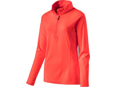 McKINLEY Damen Fleece-Longshirt Cortina II Orange