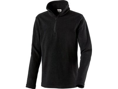 McKINLEY Kinder Fleece-Longshirt Cortina II Schwarz