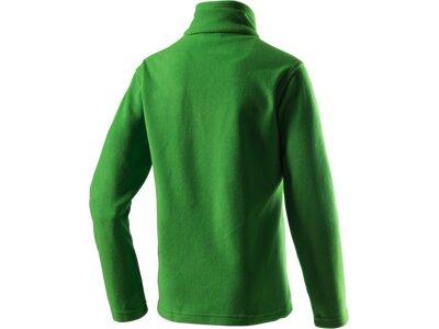 McKINLEY Kinder Fleece-Longshirt Cortina II Grün