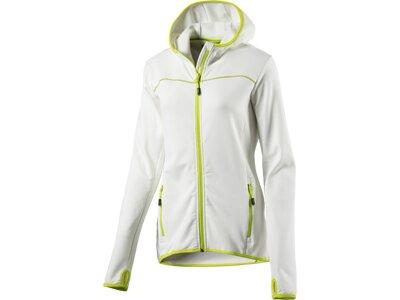 McKINLEY Damen Unterjacke Damen Kapuzen Outdoor-Jacke Kipnuk wms Weiß