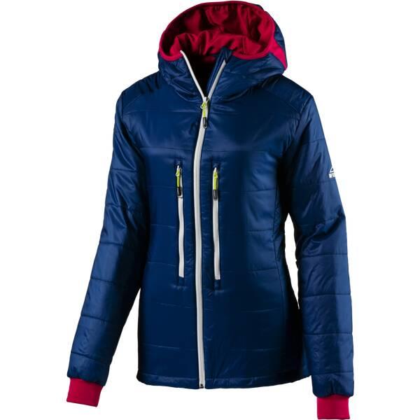 McKINLEY Damen Jacke Damen Kapuzen Outdoor-Jacke Kodiak wms Blau