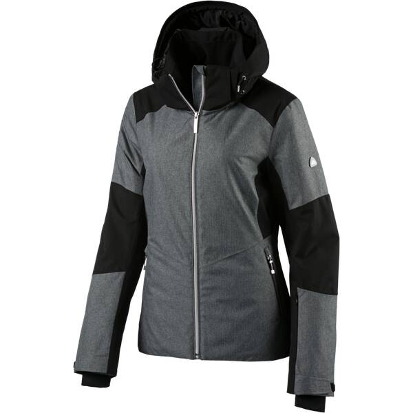 McKINLEY Damen Jacke Damen Kapuzen Skijacke Nova Schwarz