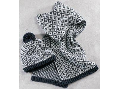 McKINLEY Damen Damen Schal- und Mützenset Zella Blau