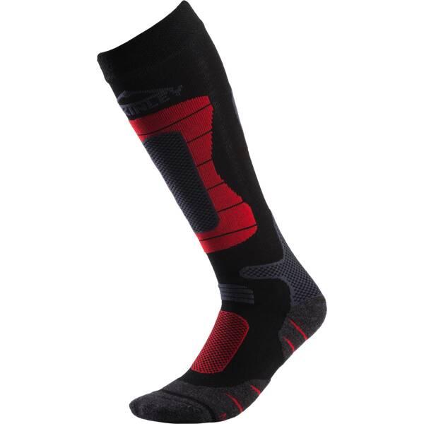 McKINLEY Herren Skistrümpfe Ben | Sportbekleidung > Funktionswäsche > Skisocken | Schwarz - Rot - Grau | Polyacryl - Polyamid - Wolle - Elasthan | McKINLEY