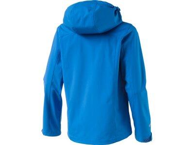 McKINLEY Kinder Kapuzen SoftshelljackeEverest Blau