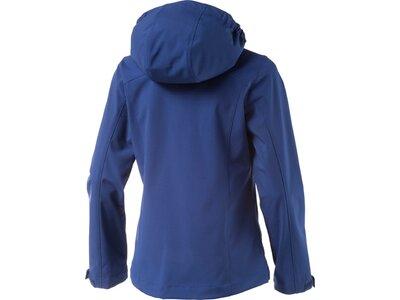 McKINLEY Kinder Kapuzen Softshelljacke Everest Blau