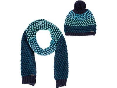 McKINLEY Damen Mütze und Schal-Set Tani Blau