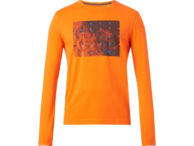 McKINLEY Herren Shirt Arne Orange