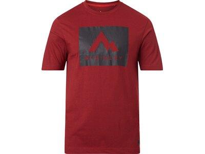 McKINLEY Herren Shirt Krassa Rot