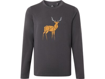 McKINLEY Kinder Shirt Borra Grau