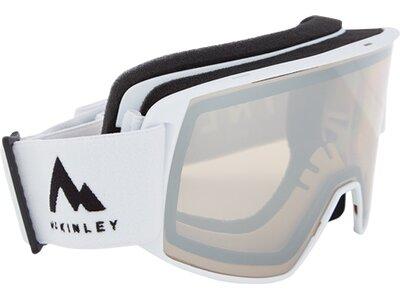 McKINLEY Herren Ski-Brille Base 3.0 Mirror Weiß