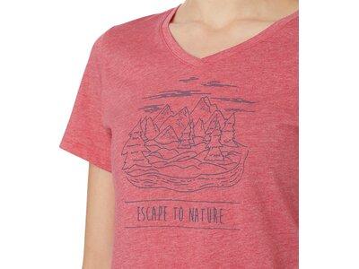 McKINLEY Damen T-Shirt Kulma Pink