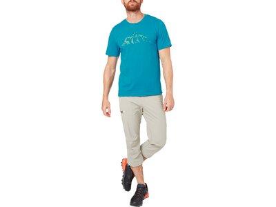 McKINLEY Herren T-Shirt Mathu Blau