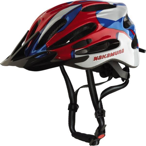 NAKAMURA Herren Helm Fahrrad-Helm Aero MTB