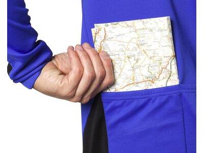 NAKAMURA Herren Trikot Trikot Langarm Idea Blau