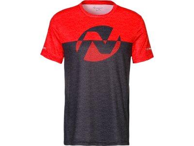 NAKAMURA Herren T-Shirt Errano Schwarz
